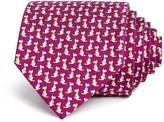 Salvatore Ferragamo Dog Neat Classic Tie