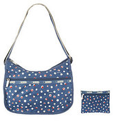 Le Sport Sac As Is Printed Nylon Classic Hobo with Pouch
