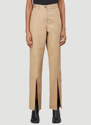Martine Rose Front Split Pants