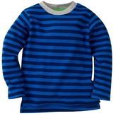 Gerber® Graduates® Toddler Boys' Striped Long Sleeve Shirt - Blue