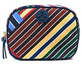 Tory Burch Ella Stripe Cosmetic Case