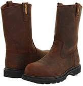 Caterpillar Revolver Steel Toe (Dark Brown) Men's Work Pull-on Boots