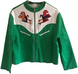 Stella Jean Green Cotton Jackets