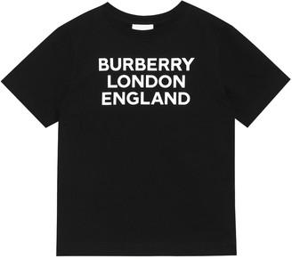 BURBERRY KIDS Logo cotton jersey T-shirt