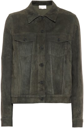 The Row Coltra suede jacket