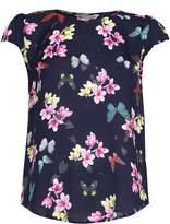 Yumi Butterfly Print T-Shirt