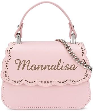 MonnaLisa Logo Embossed Bag