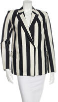 Robert Rodriguez Striped Notch-Lapel Blazer