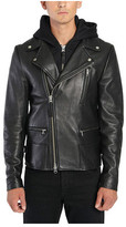 Mackage Men's Mike Leather Biker Jacket