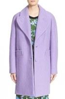 Carven Women's Oversize Virgin Wool Blend Coat