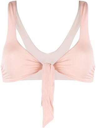 Stella McCartney Tie-Front Bikini Top