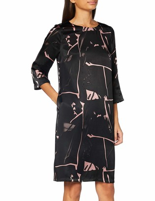 APART Fashion Women's Printed Burn-Out Dress Cocktail