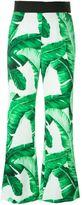 Dolce & Gabbana banana leaf print trousers
