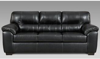 Red Barrel Studioâ® Bellatrix Sofa Red Barrel StudioA Upholstery Color: Black
