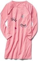 Gap Graphic ruffle nightgown