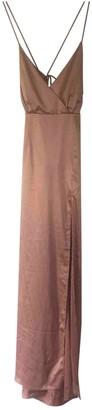 NBD Pink Silk Dress for Women