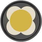 Orla Kiely Large Spot Flower Round Tray - Denim