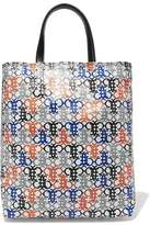 Emilio Pucci Leather-Trimmed Printed Coated-Canvas Tote