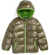 Patagonia Toddler Boy's Hi-Loft Hooded Down Jacket