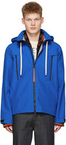 Loewe Blue Gore-tex Hooded Jacket