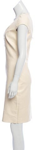Thumbnail for your product : Jitrois Knee-Length Leather Dress