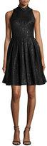 Erin Fetherston Cee Cee Sleeveless Halter Fit & Flare Dress