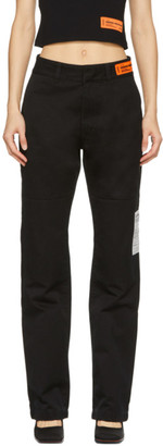 Heron Preston Black Chino Trousers