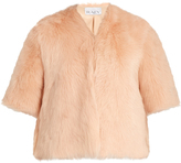 Raey Short shearling coat