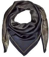 Laura Biagiotti Women's Brown Silk Scarf.