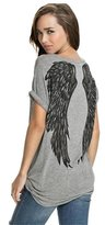 Hittime TR.OD Summer Novel Angel Wings Loose T Shirt Women Tops