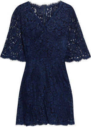 Dolce & Gabbana Corded Lace Mini Dress
