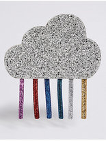 Marks and Spencer Kids' Rainbow Cloud Sequin Cross Body Bag