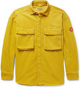 Cav Empt Oversized Appliquéd Cotton-Corduroy Shirt
