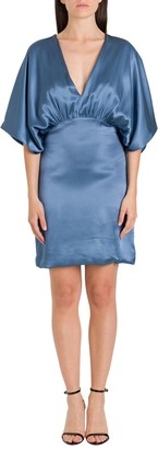 Semi-Couture SEMICOUTURE Short Dress With Kimono Sleeves