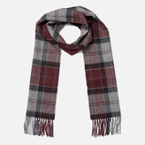 Barbour Women's Tartan Scarf - Merlot/Grey