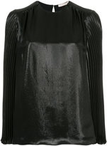 Christopher Kane pleated sleeve top