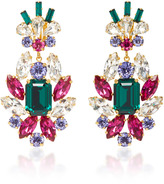 Dolce & Gabbana Crystal Clip Earrings