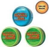 O'Keeffe's Working Hands Cream + Healthy Feet Cream :: Value Pack by
