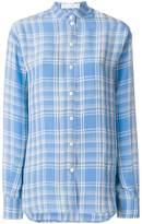 Victoria Beckham checked shirt