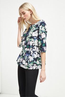 Etta Cupro 34 Sleeve Shirt