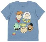 Toy Story Toddler Boys' T-Shirt - Light Blue Heather