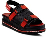 Spring Step Leather Sandals - Excluse