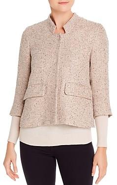 Herno Short Tweed Blazer