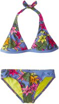Roxy Big Girls' Hot Tropics 2 Piece Halter Set