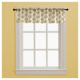 Nobrand No Brand Window Valance Tan Green Red