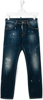 DSQUARED2 distressed jeans - kids - Cotton - 14 yrs