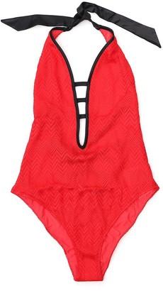 Missoni Mare Crotchet One-Piece Swimsuit