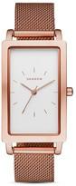 Skagen Hagen Mesh Bracelet Watch, 22 x 43mm