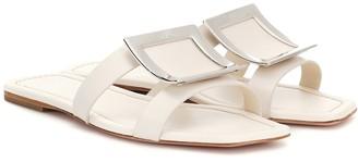 Roger Vivier Bikiviv' leather slides