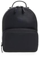 Mackage Brook Leather Backpack - Blue
